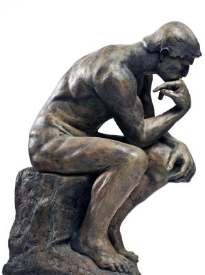 Скульптура Мыслителя, Роден