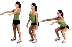 упражнения для колена