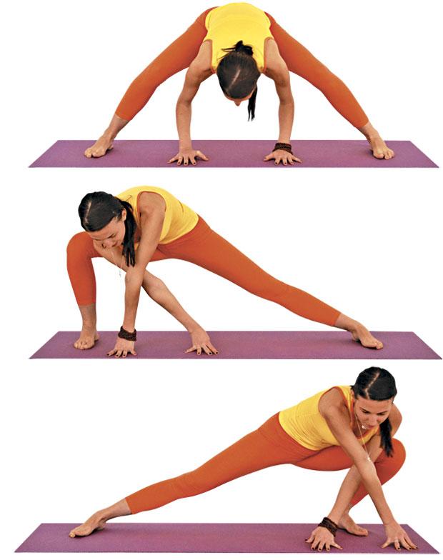 упражнения для таза
