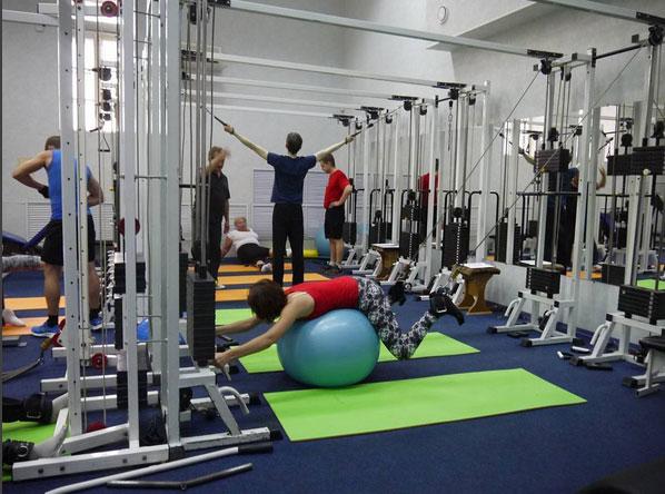 фитбол упражнения