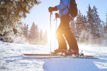 польза лыж