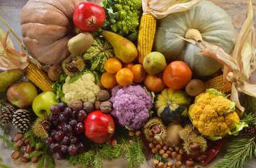 овощи фрукты осень