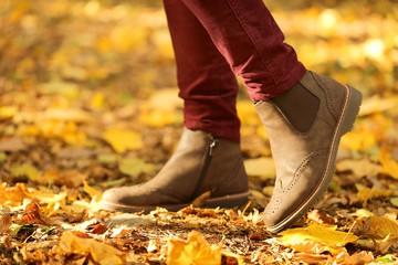 осень ноги