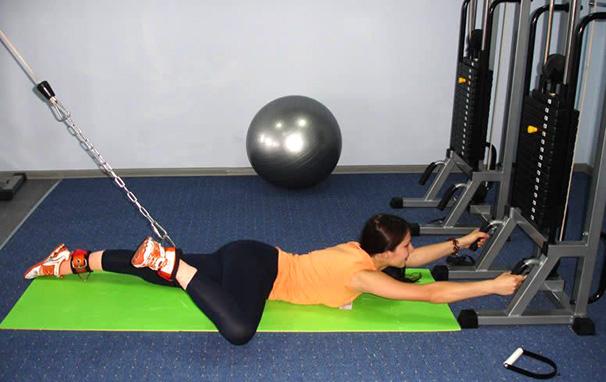 упражнение лягушка на мтб