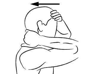 упражнения ддя шеи