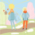природа солнце люди