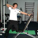 упражнение на плечо мтб