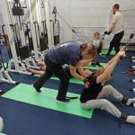 упражнения для позвоночника на тренажерах