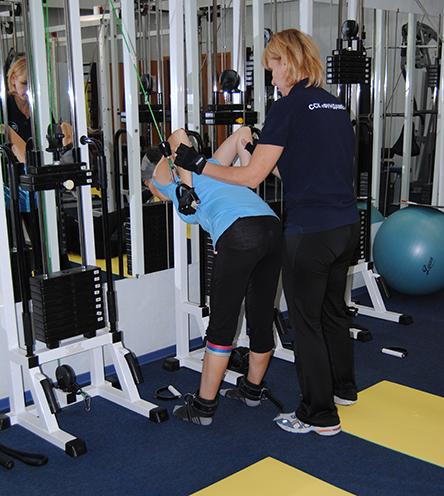 упражнение для плеч и трапеции