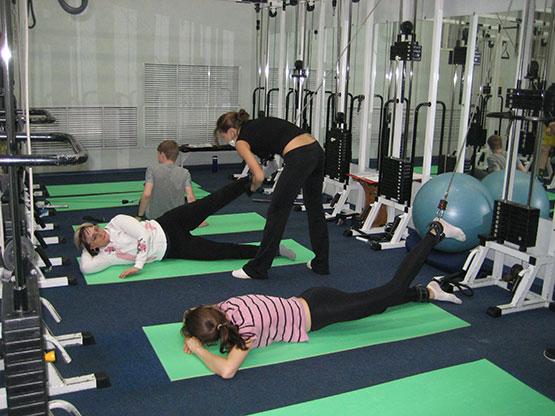 упражнение для таза и поясницы