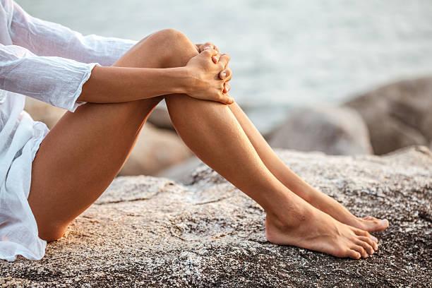 ноги летом