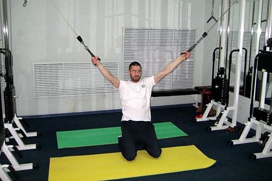 упражнение на ротаторы плеча
